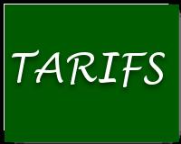tarifs chalet